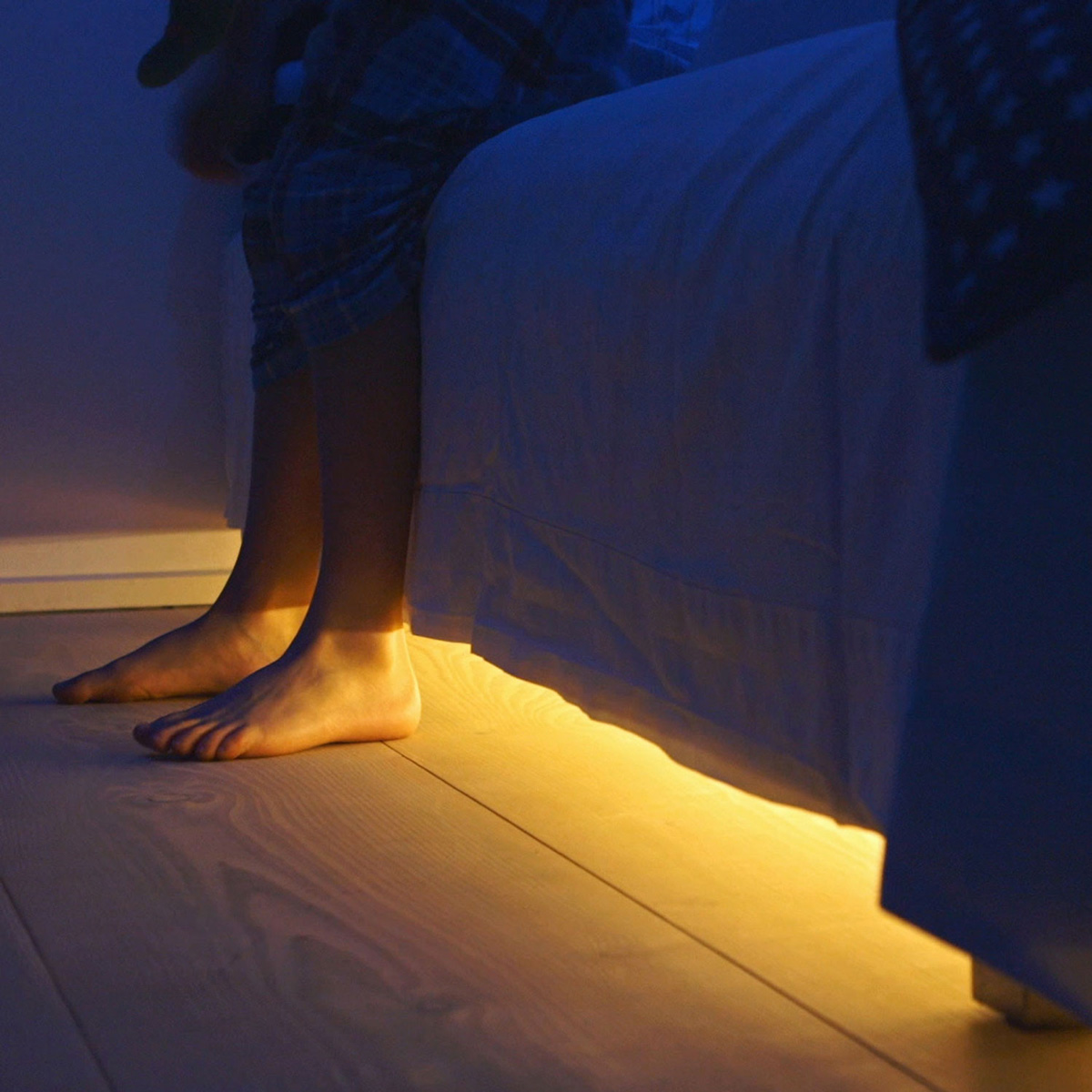 Bed Light Discreet Motion Activated Under The Bed Lighting