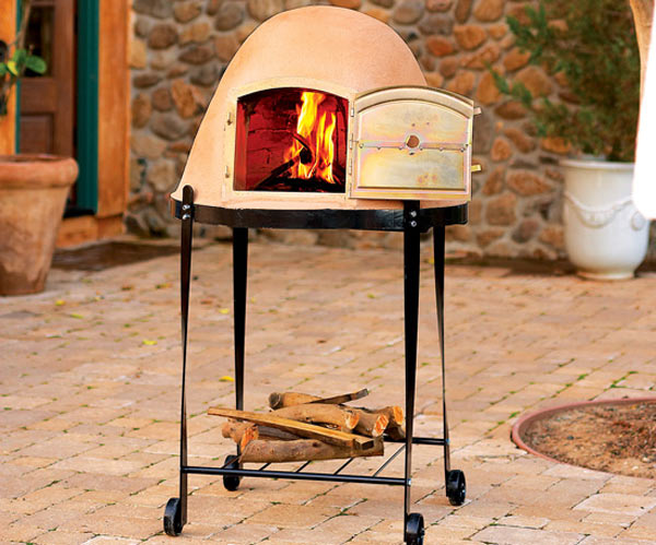 beehive woodfire pizza oven