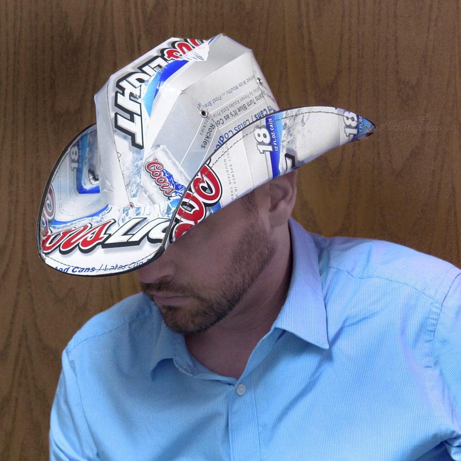 Beer Box Cowboy Hats The Green Head