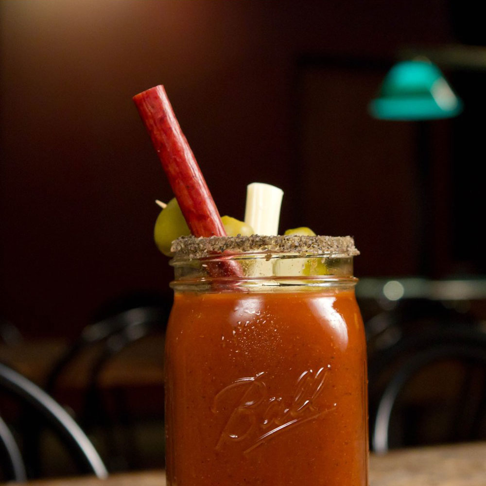 Benny S Bloody Mary Beef Straws The Green Head