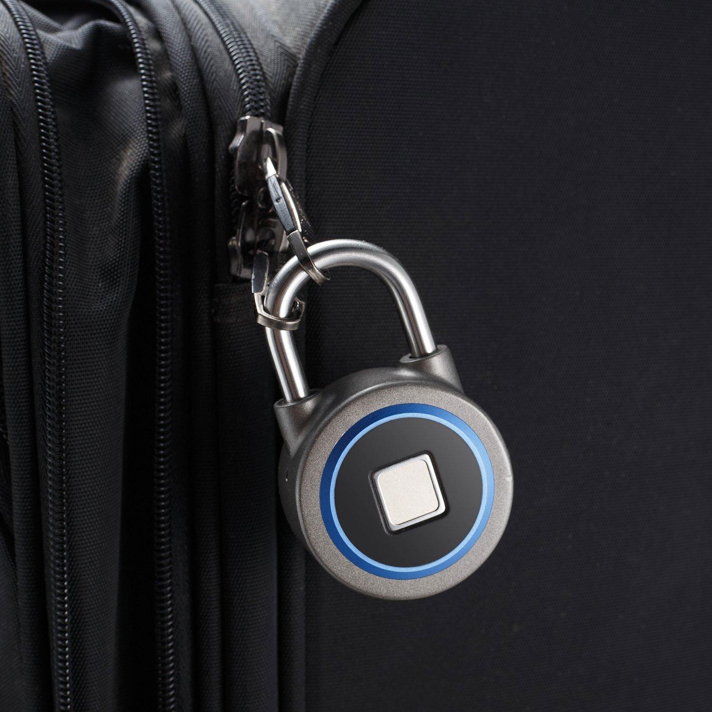 biometric fingerprint padlock