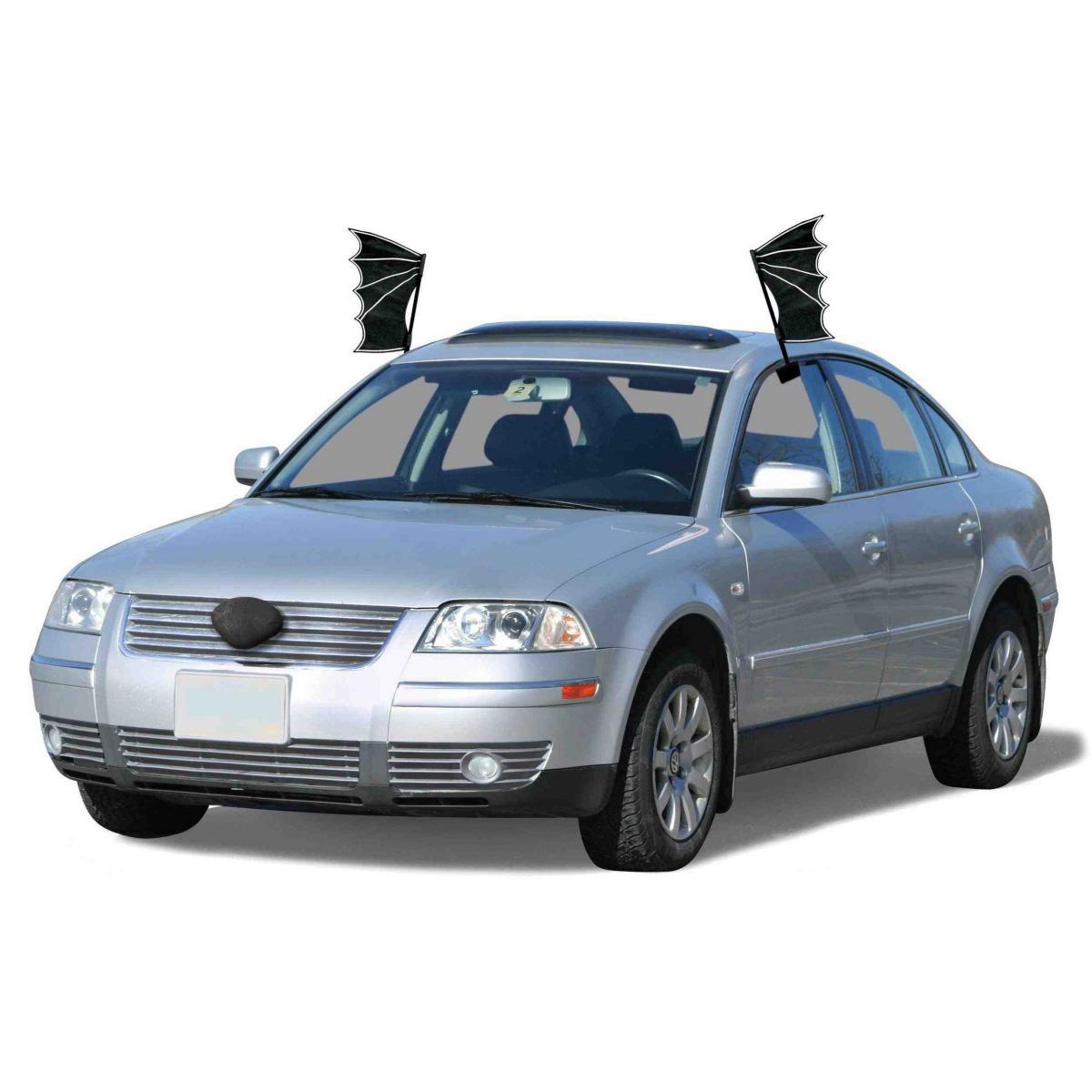 Black Bat Halloween Car Costume