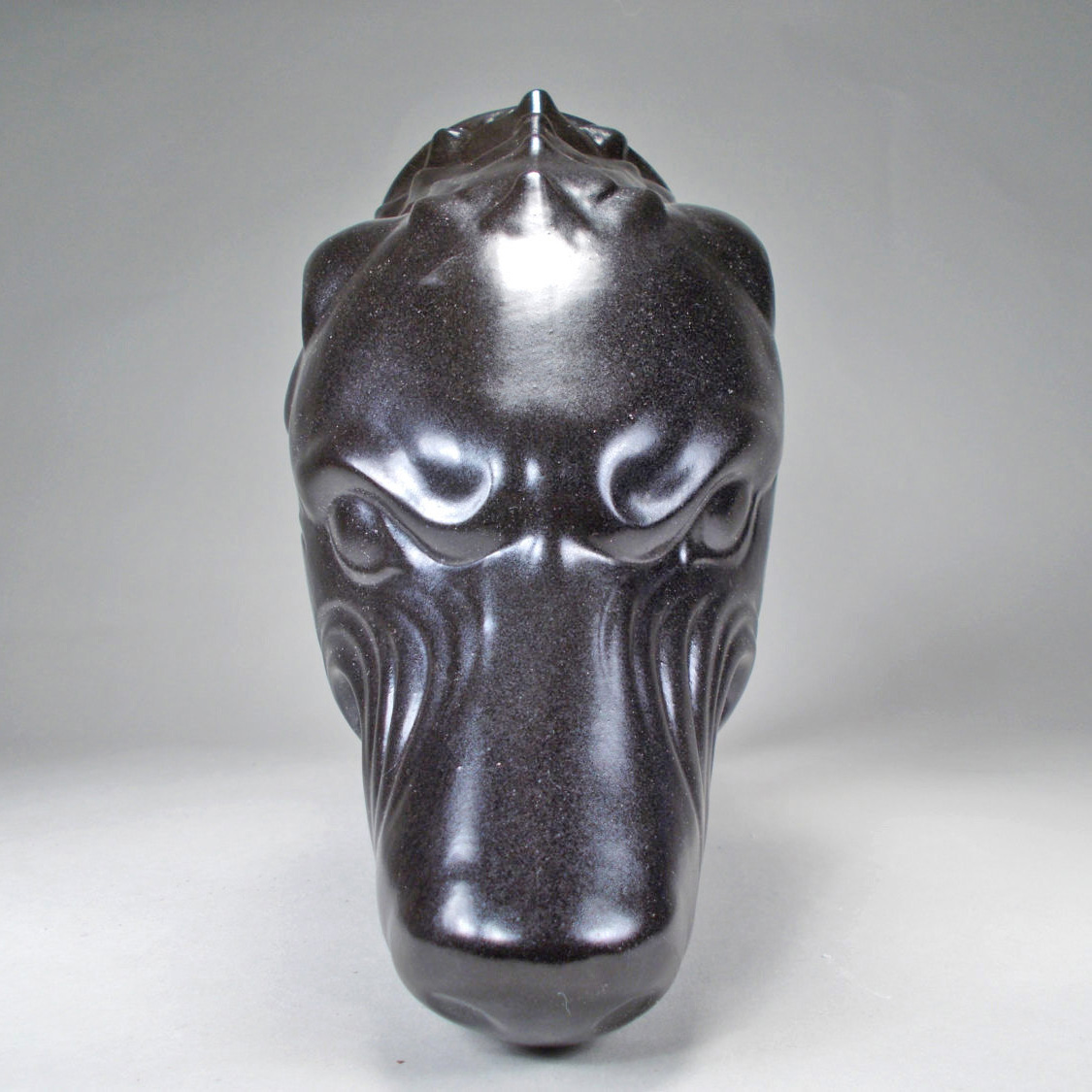 Black Wolf Drinking Horn Mug The Green Head