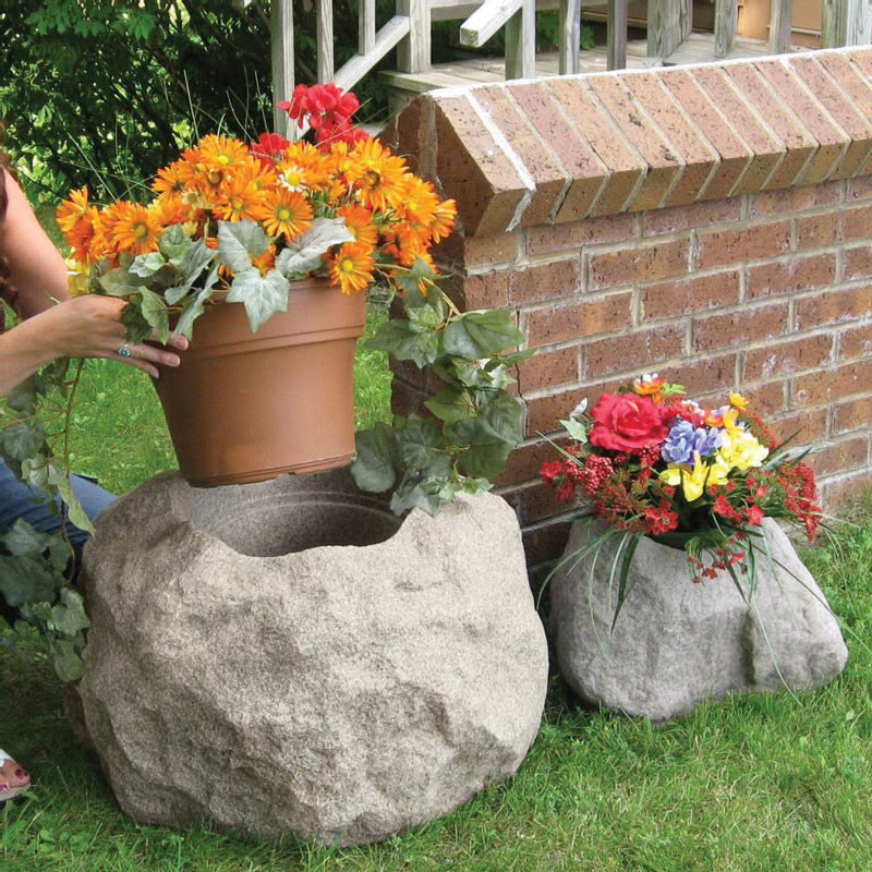 Planting a Potted Rock Garden |Rock Garden With Pots