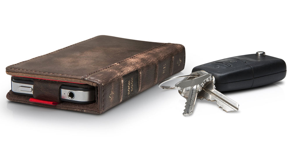 Old Leather Book Iphone Cover : Bookbook leather iphone case and wallet the green head