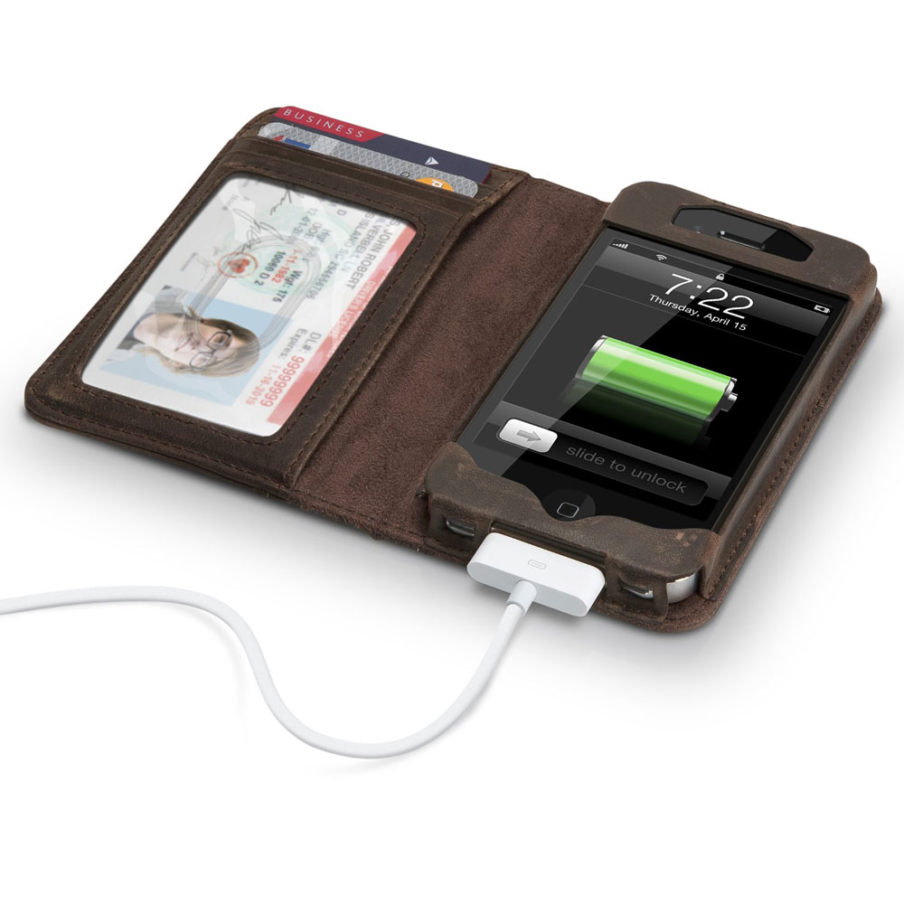 Leather Iphone Cases Bookbook - leather iphone case