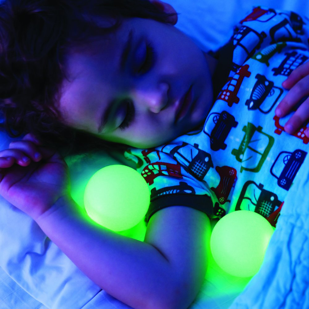 Boon Glo Nightlight With Glowing Balls The Green Head