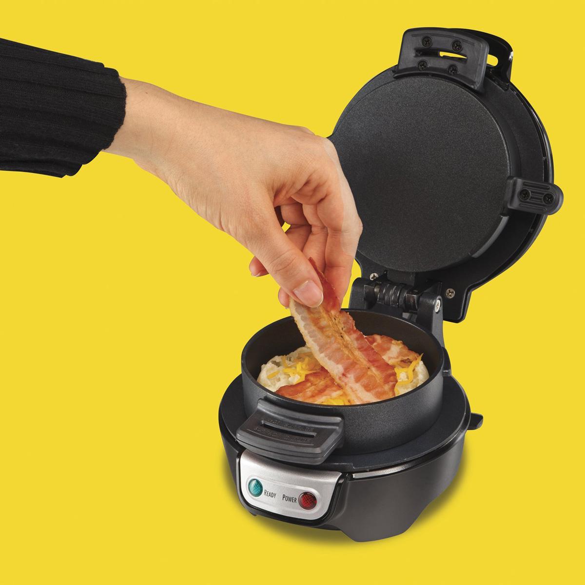 breakfast sandwich maker. Black Bedroom Furniture Sets. Home Design Ideas