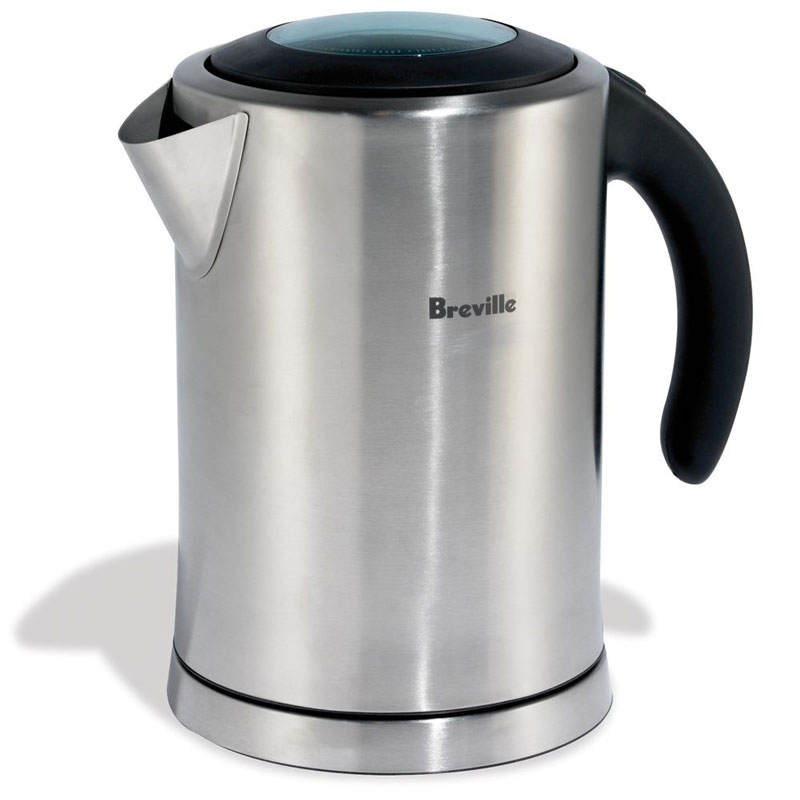 Stainless Electric Kettle ~ Breville ikon stainless steel electric kettle the green head