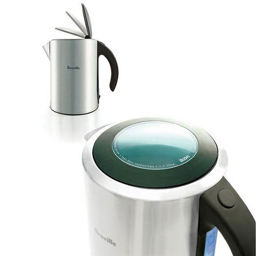 Breville Electric Tea Kettle ~ Breville ikon stainless steel electric kettle the green head