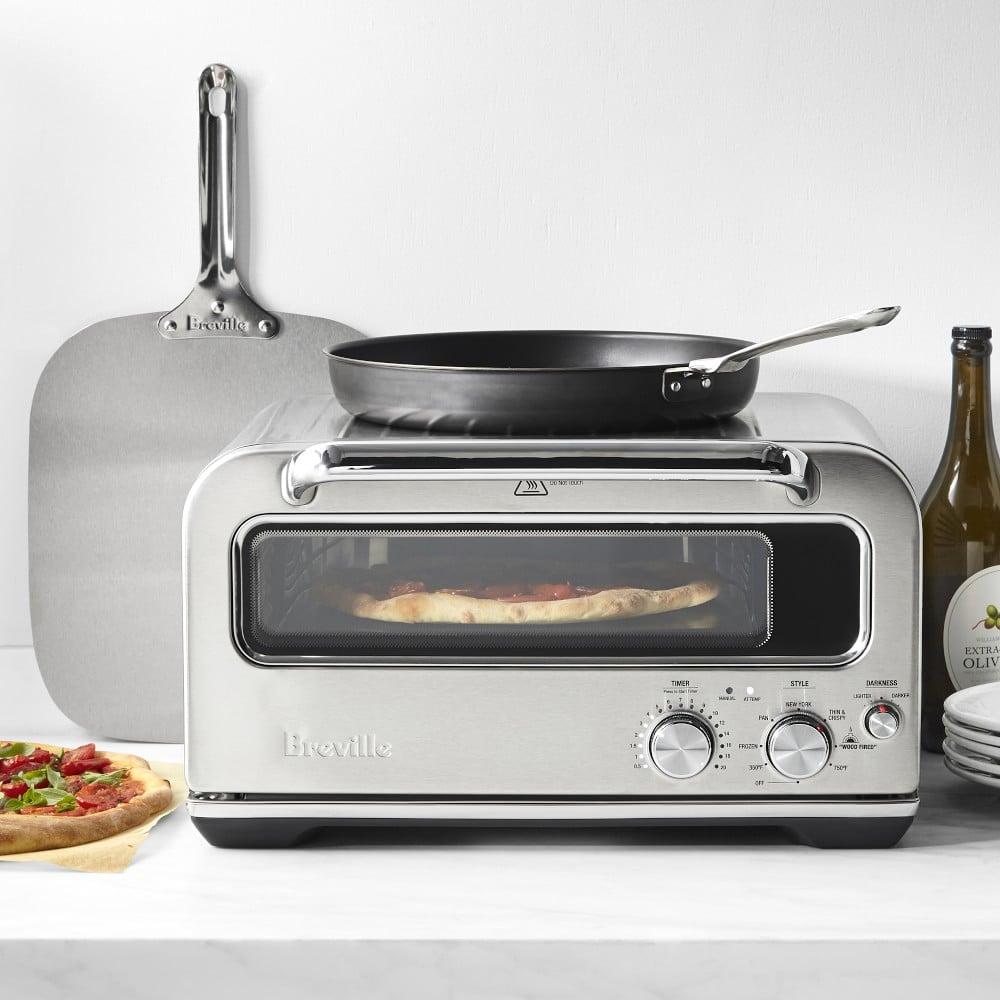 Breville Pizzaiolo Smart Pizza Oven Reaches Temps Up To