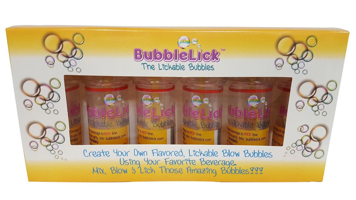 Bubblelick Create Edible Bubbles From Your Favorite
