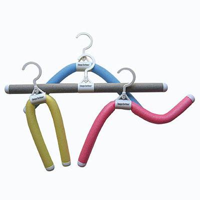 NEW Flexi Hanger Set of 10 Pink Black or White
