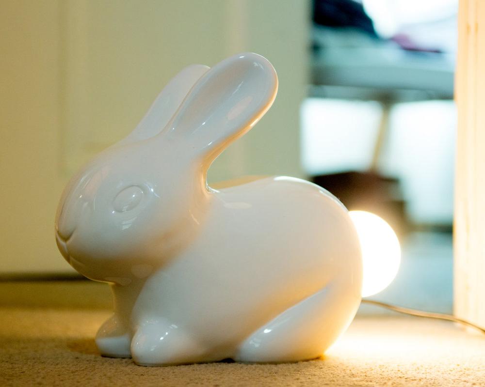 Bunny Lamp The Green Head