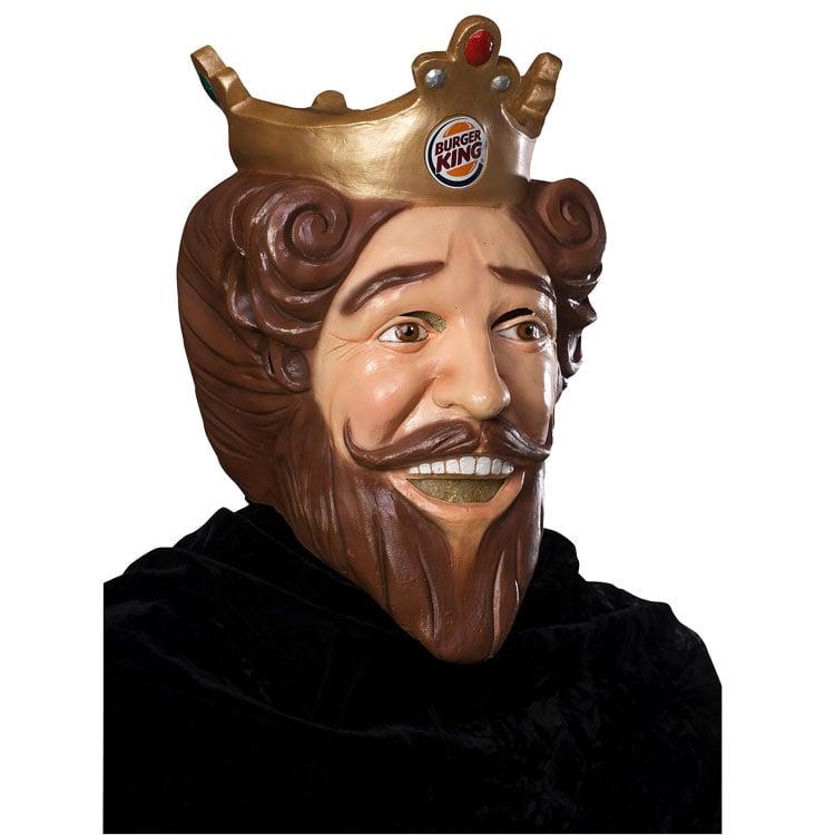 burger king creepy king halloween mask - Creepy Masks For Halloween