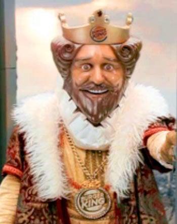 burger king halloween mask 3 burger king creepy king halloween mask the green head