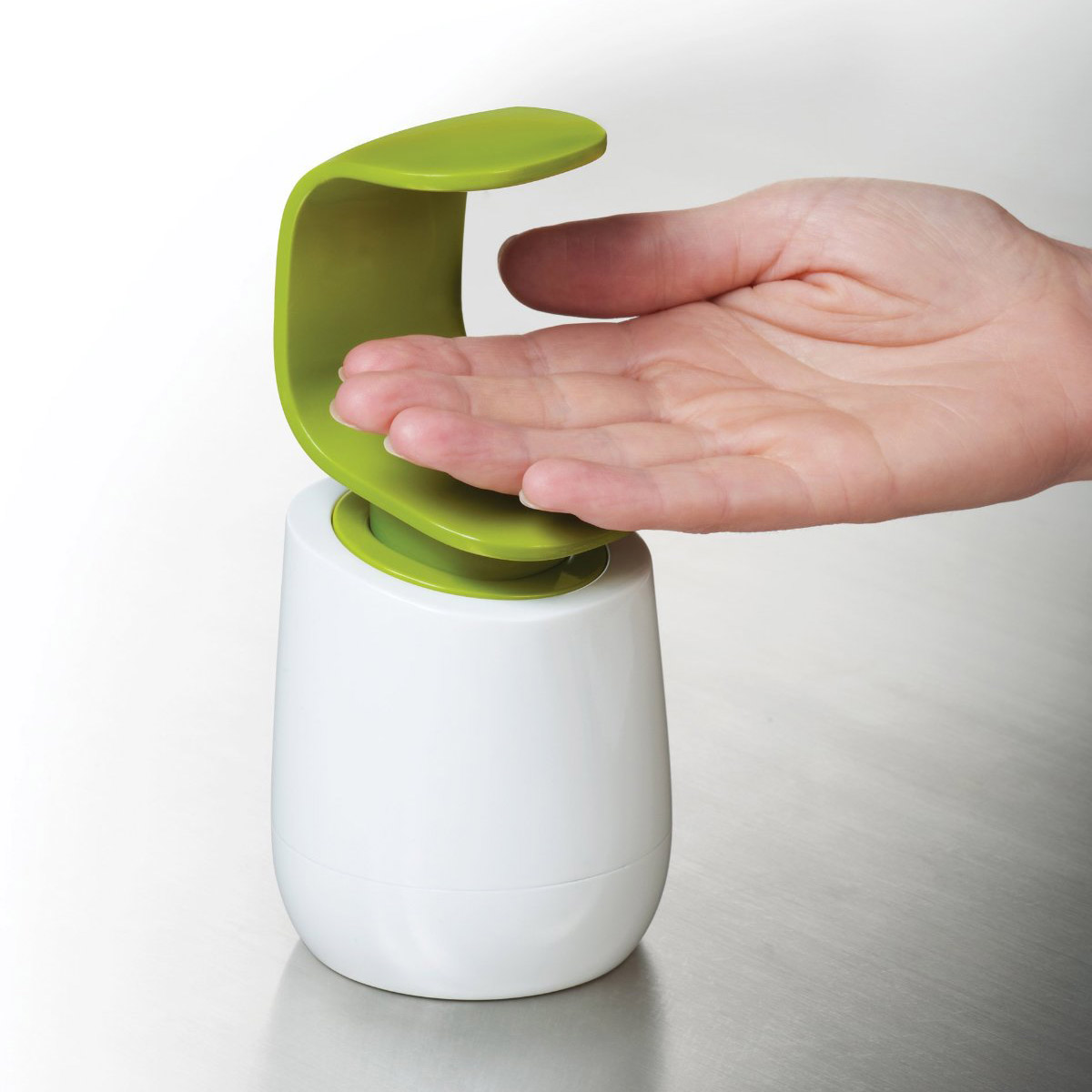 C Pump   Back of the Hand Hygienic Soap Dispenser. C Pump   Back of the Hand Hygienic Soap Dispenser   The Green Head