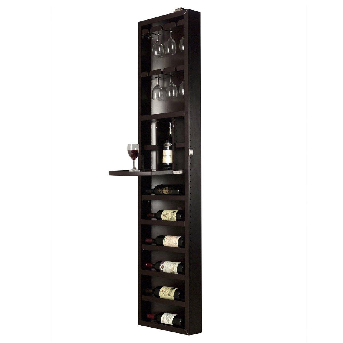 Cabidor Behind The Door Wine Storage Cabinet Green