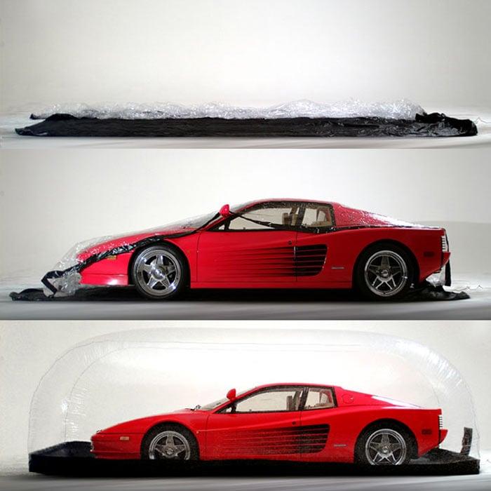 Carcapsule Inflatable Car Storage Bubble