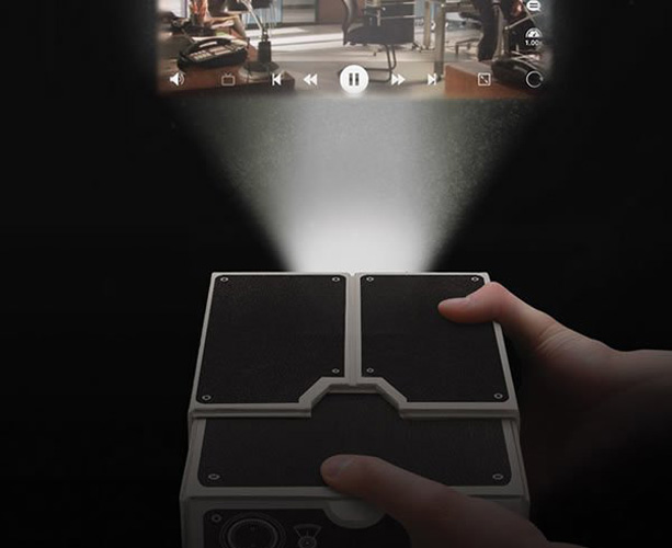 how to make a projector out of a shoebox