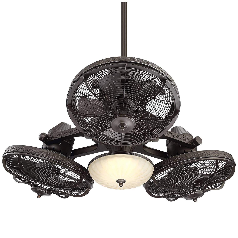 Casa Vieja Esquire Industrial Triple Head Ceiling Fan