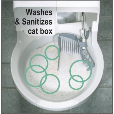 cat genie automatic flushing litter box