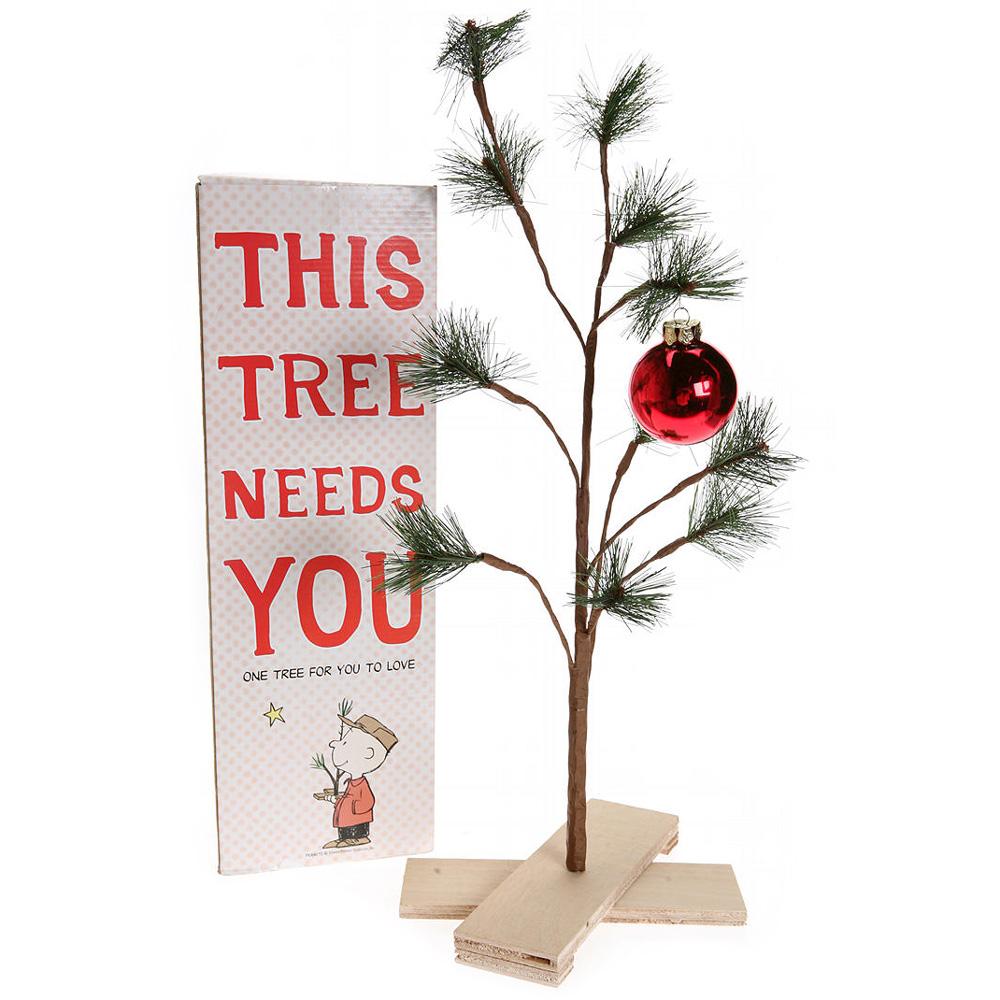 Good Grief! Charlie Brown Pathetic Christmas Tree - The ...