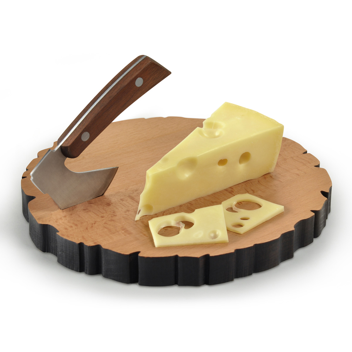 cheese log  chopping axe and cheese board set  the green head, Kitchen design