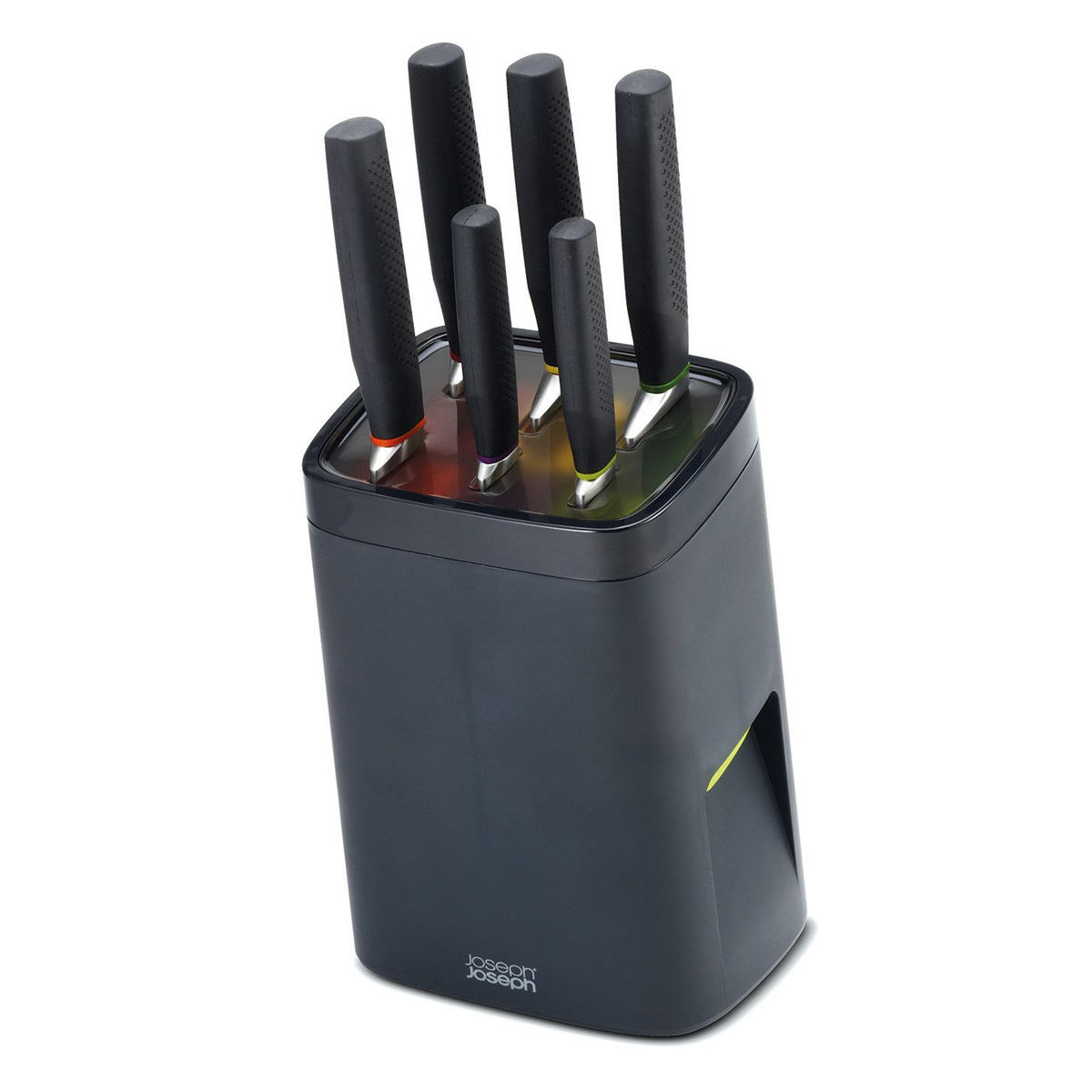 Childproof Self-Locking Universal Knife Block - The Green Head