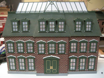Christmas vacation model house