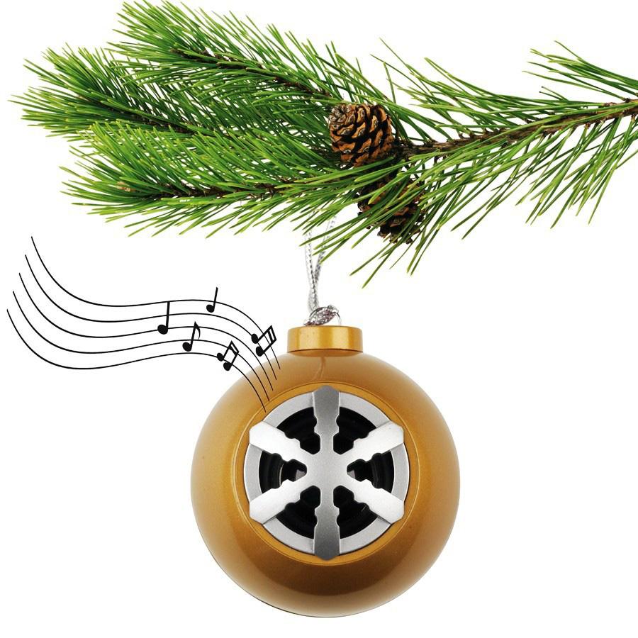 Christmas Ornament Bluetooth Speaker - The Green Head