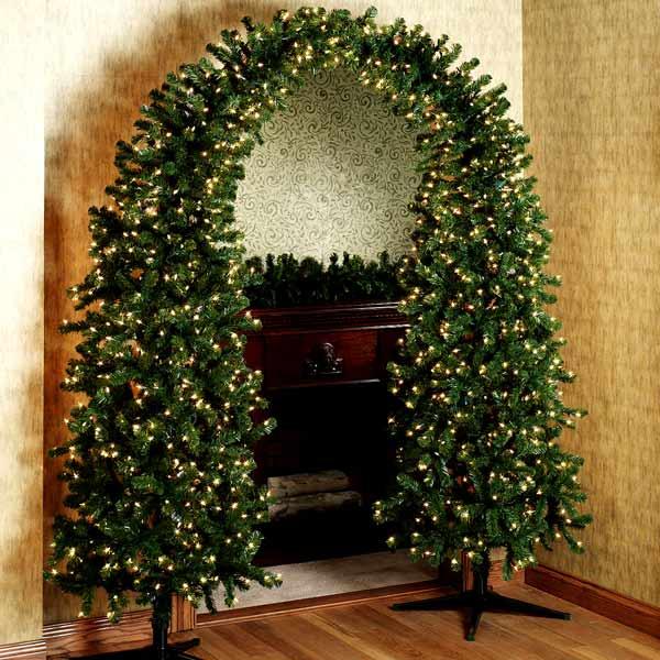 Pre,lit Christmas Tree Arch