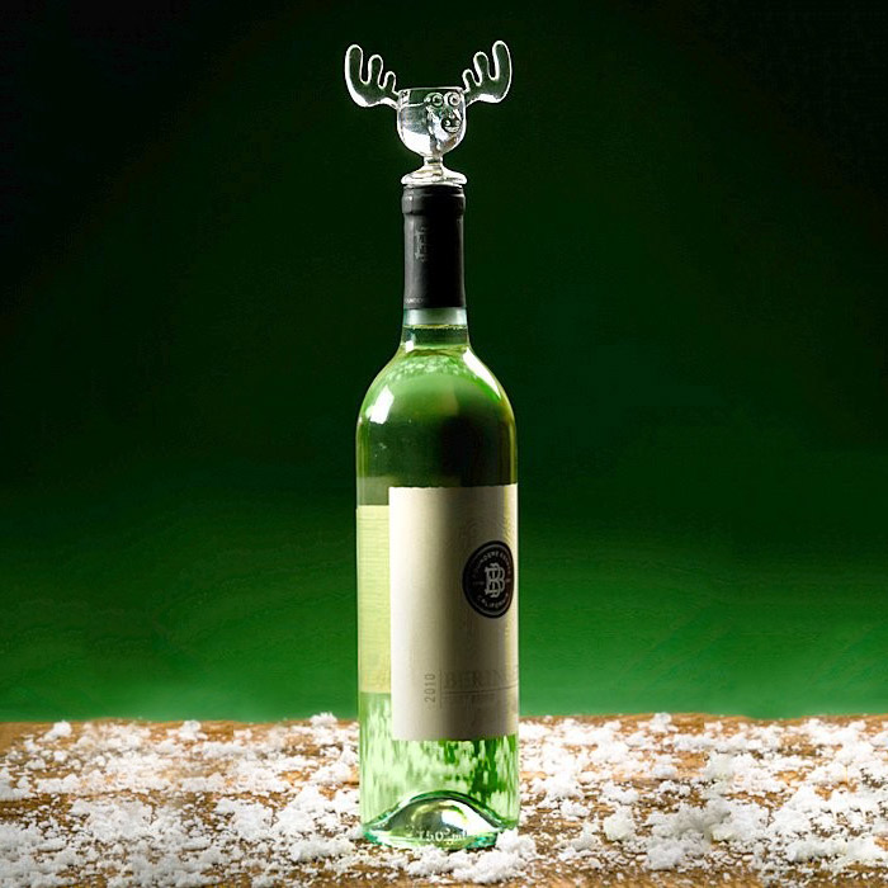 Christmas Vacation Moose Mug Wine Bottle Stopper - The Green Head