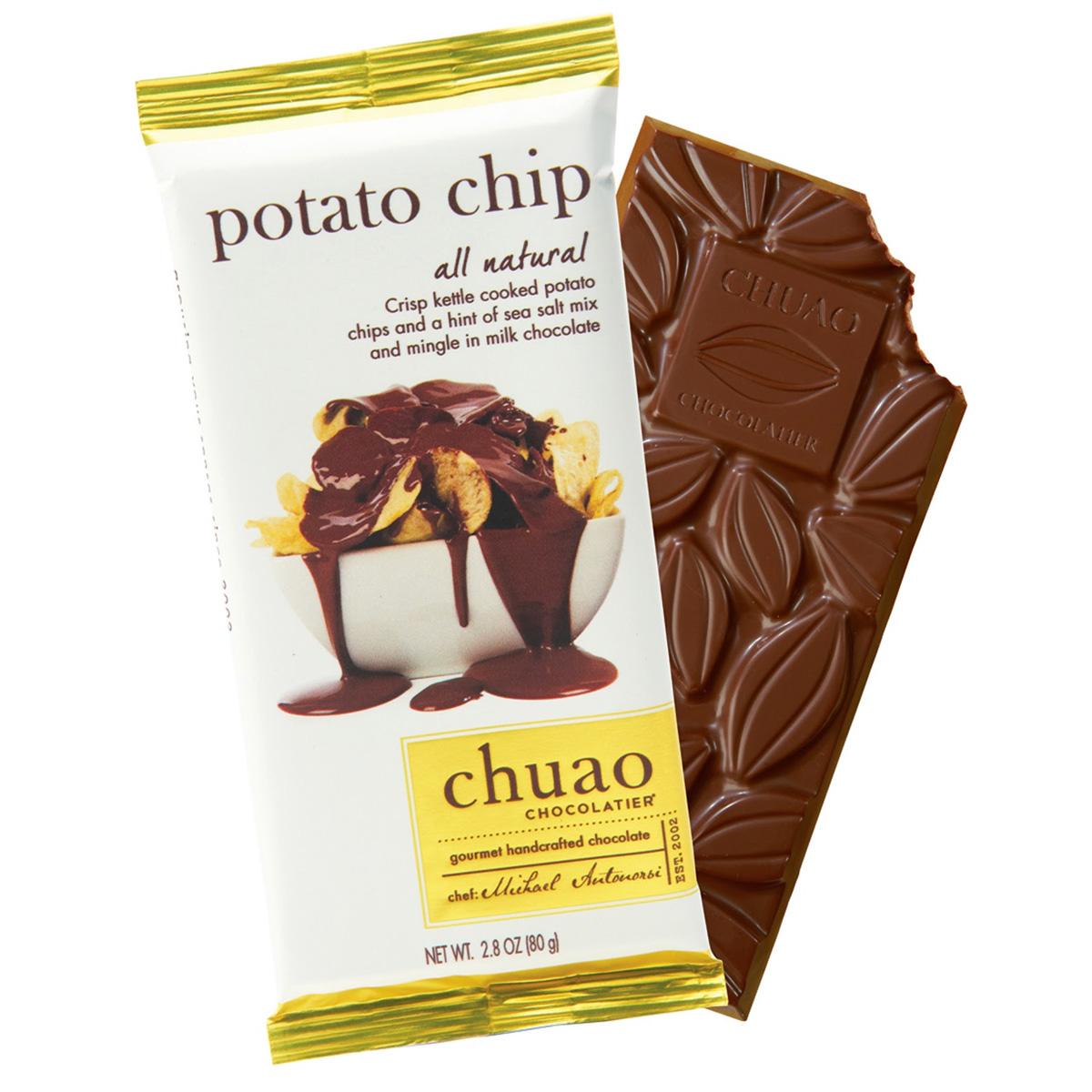 Chuao Potato Chip Chocolate Bar - The Green Head