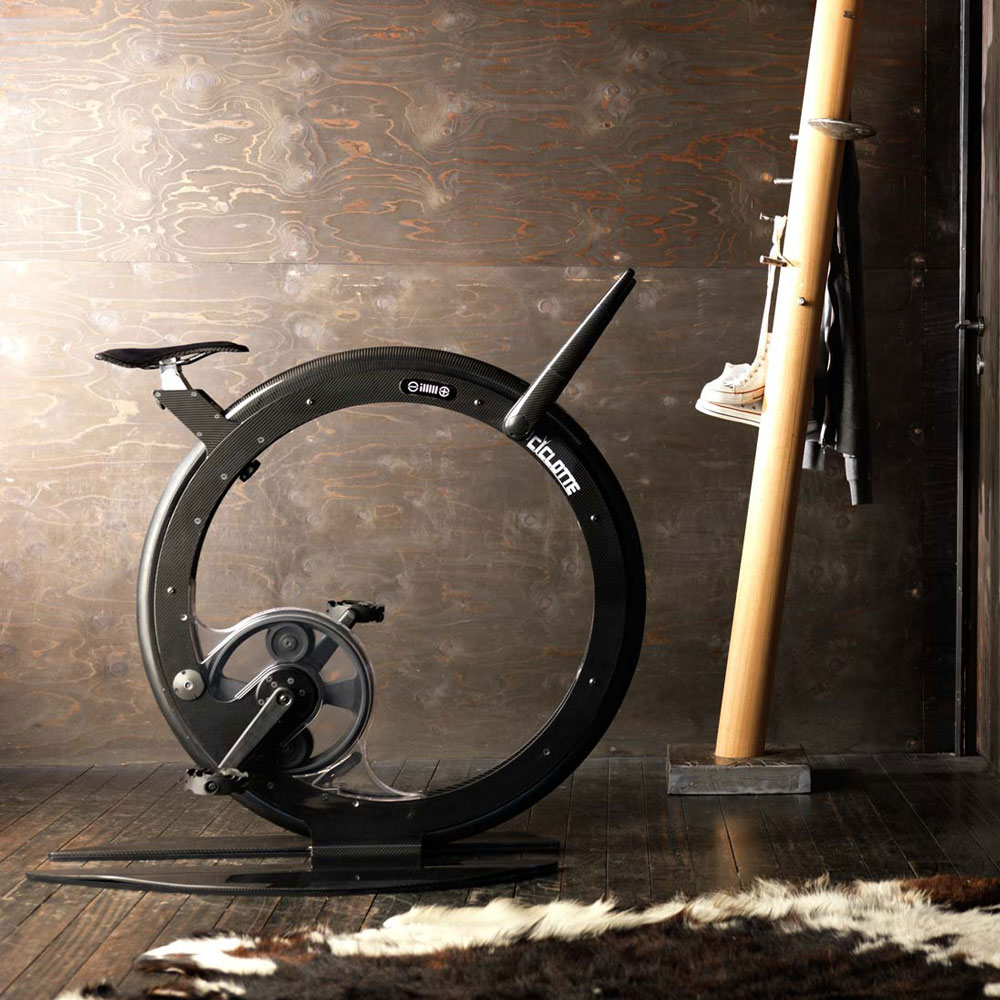 ciclotte luxury exercise bike the green head. Black Bedroom Furniture Sets. Home Design Ideas