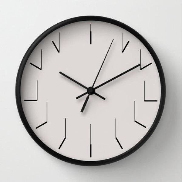 Clock Hands Wall Clock The Green Head