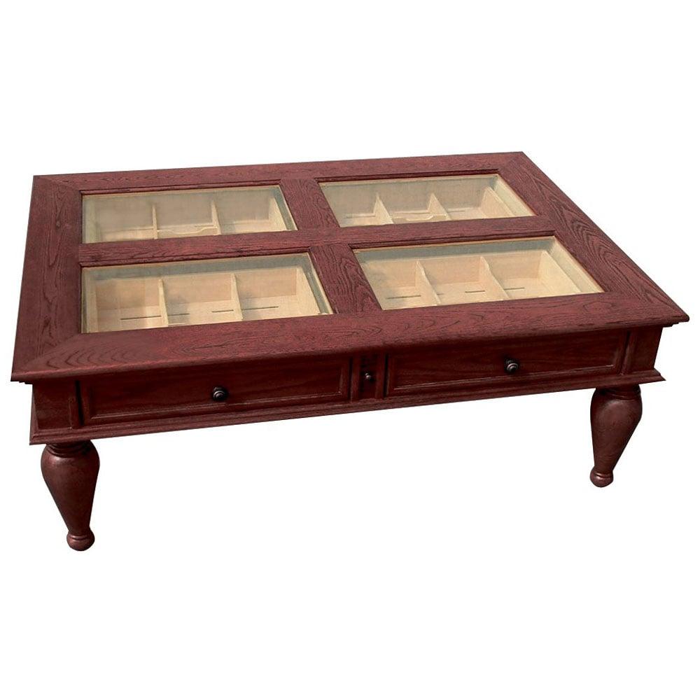 Coffee Table Cigar Humidor The Green Head