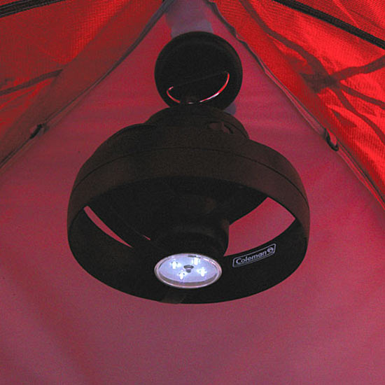 Coleman Cool Zephyr Tent Ceiling Fan And Led Light