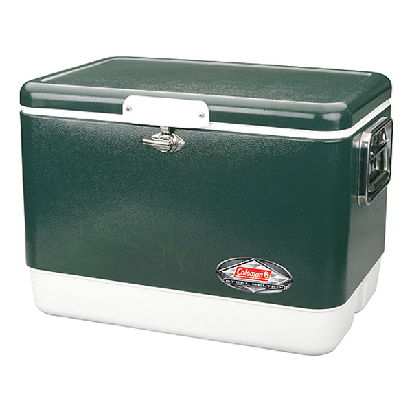 Coleman Steel Belted Chest Coolers The Green Head