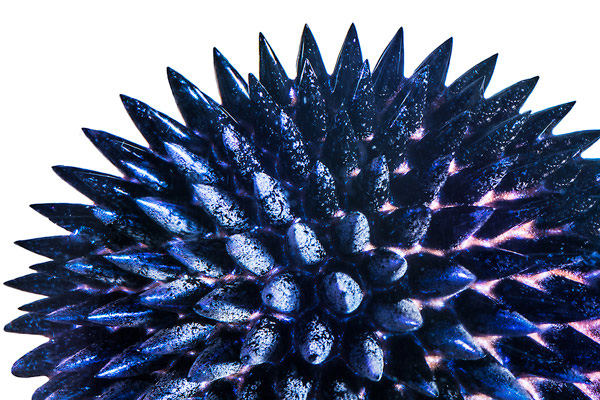 Colorful Ferrofluid Magnetic Liquid - The Green Head