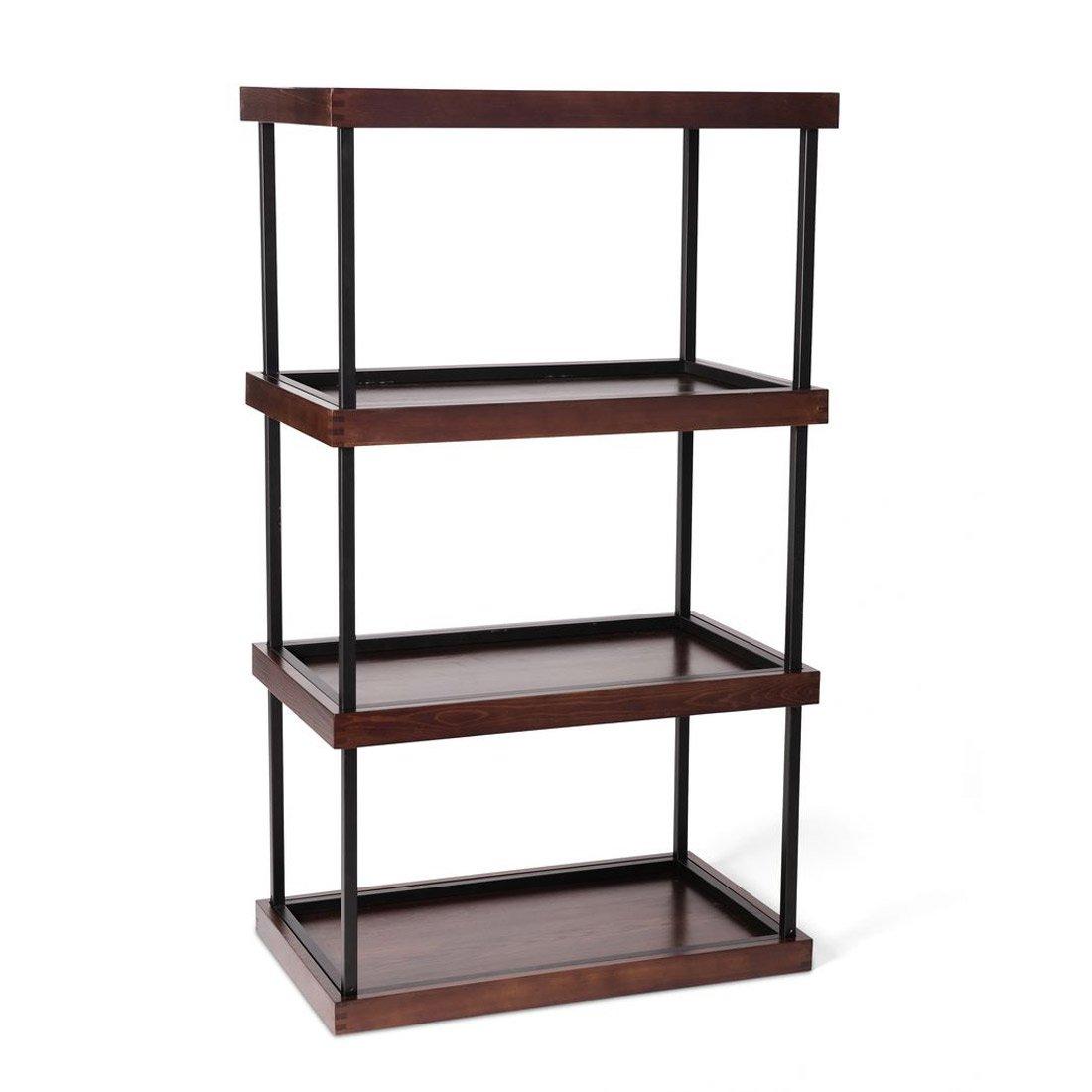 Coltura Sunshelf Stackable Wooden Shelves With Built In