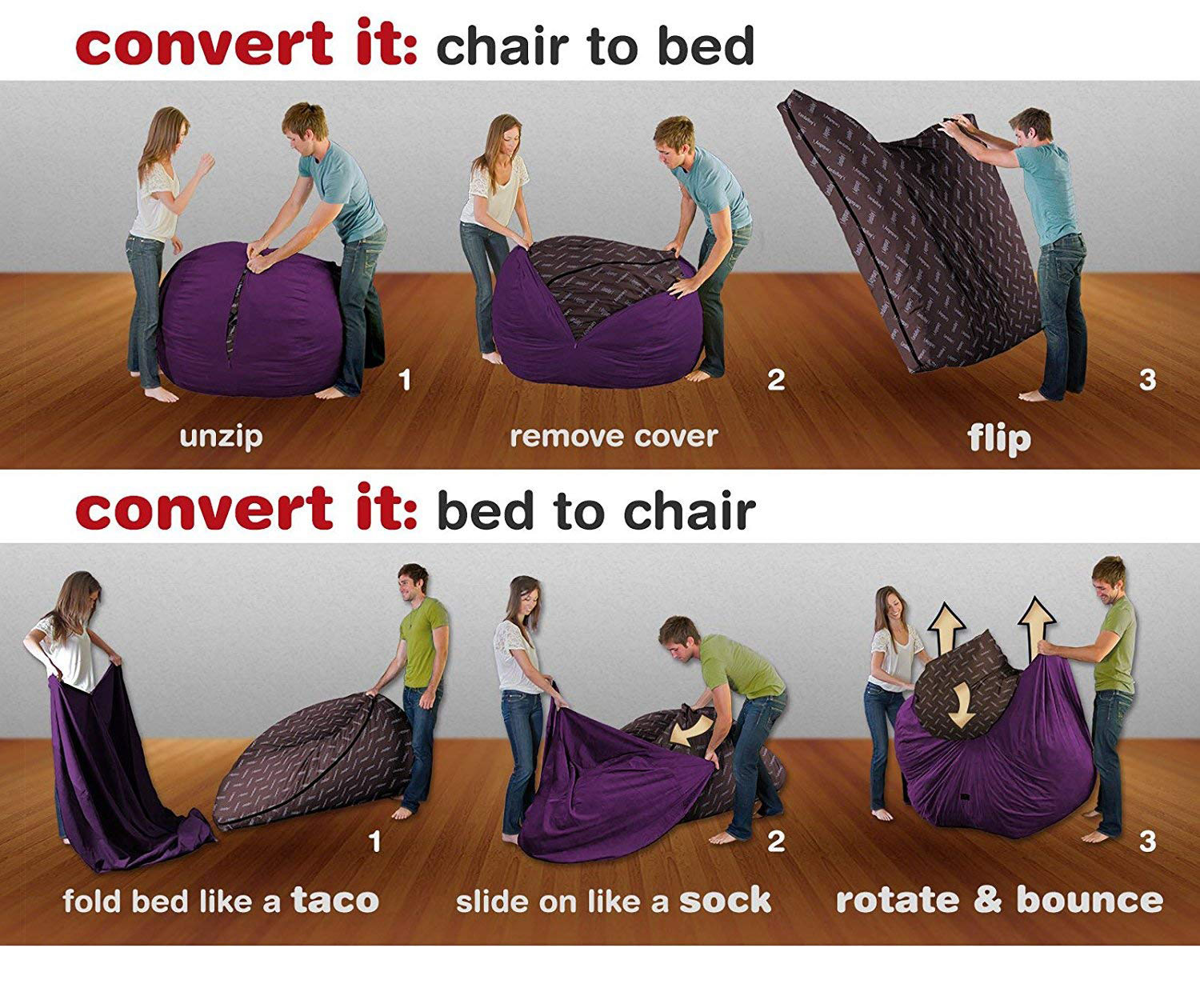 Amazing Cordaroy Convertible Bean Bag Chair Bed Bralicious Painted Fabric Chair Ideas Braliciousco