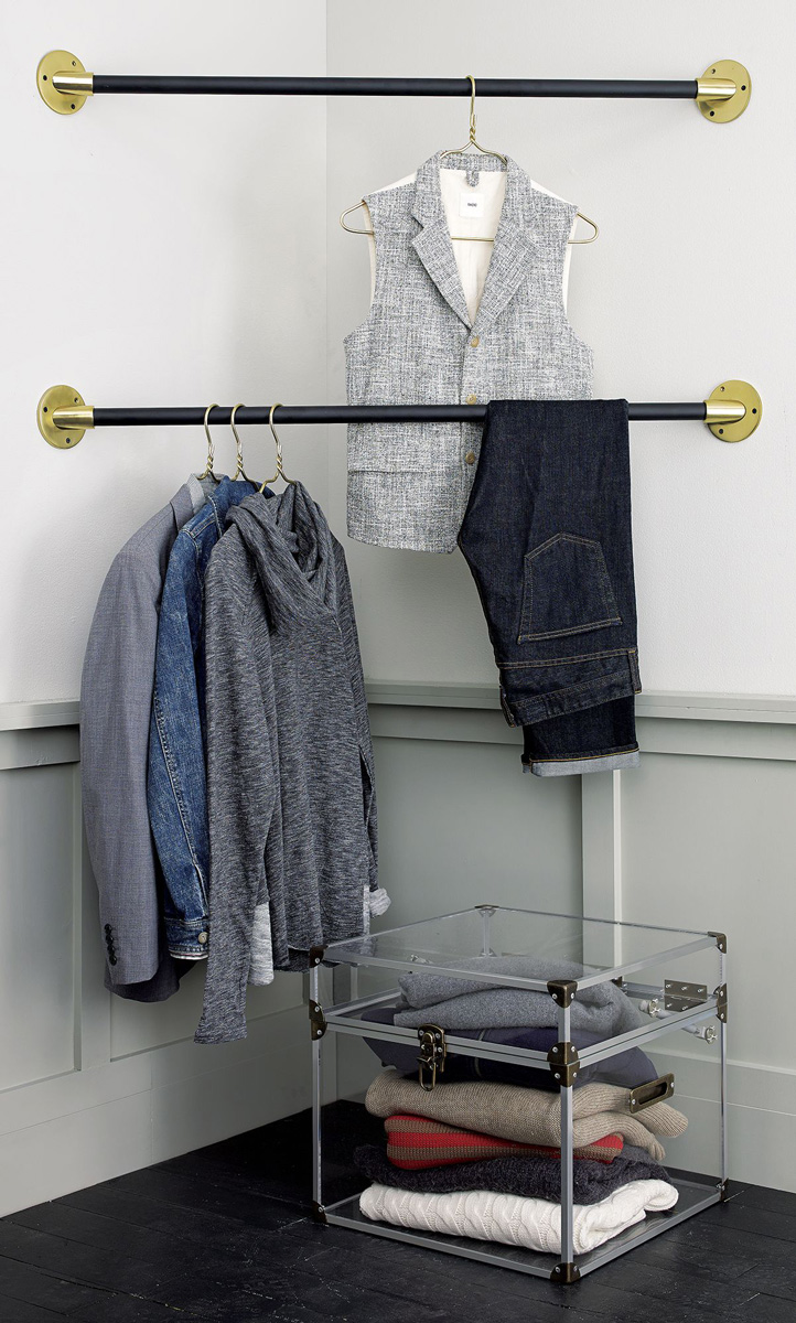 some shelving rod hanging creativity for pickup diy img closet tips