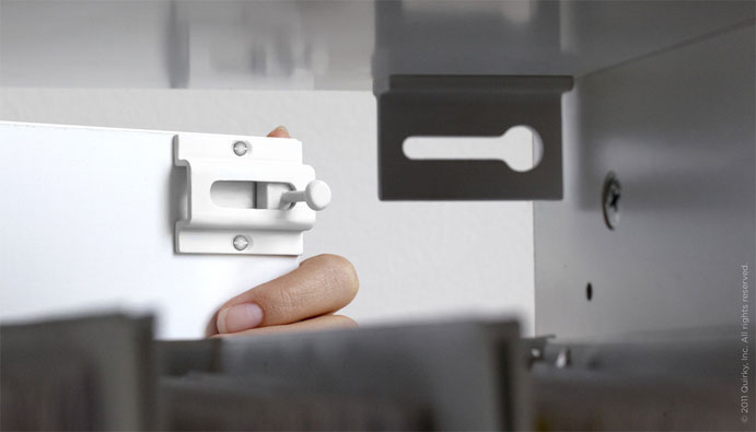 Covert Magnetic Security Drawer Latch