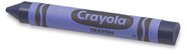 Crayola Anti Roll Crayons The Green Head