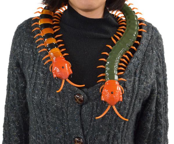 Creepy-Crawly Remote Control Centipede - The Green Head