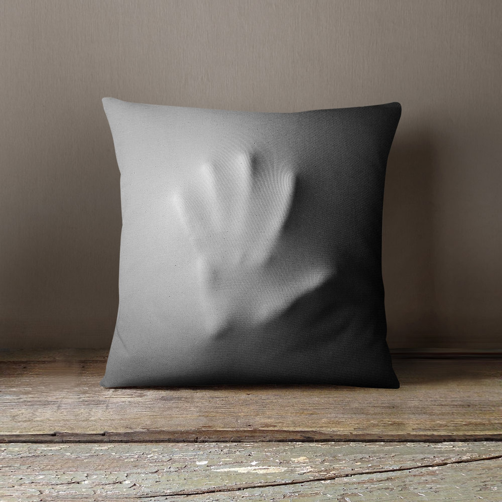 creepy halloween pillow covers - the green head