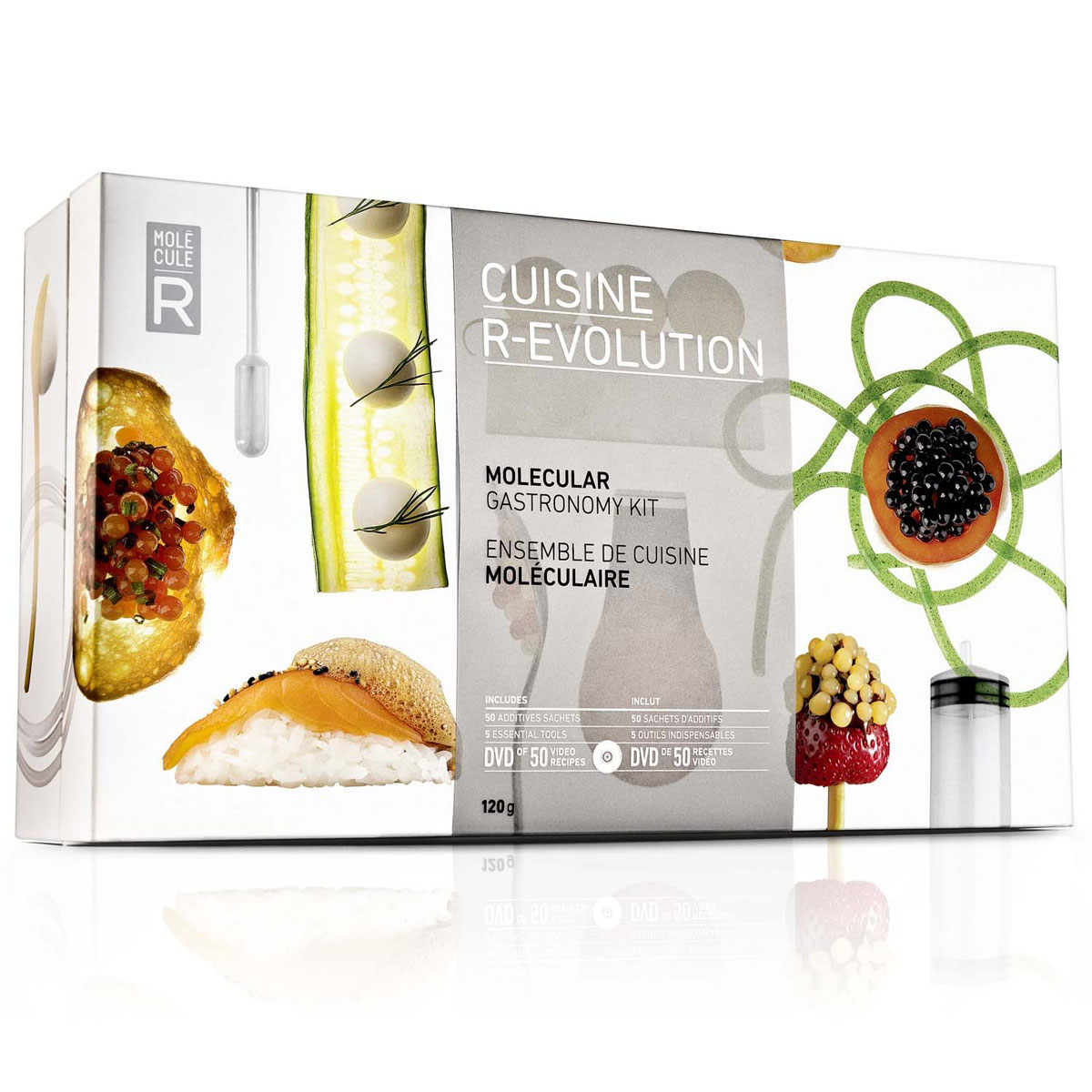 Cuisine r evolution molecular gastronomy kit the green - Cuisine r evolution recipes ...