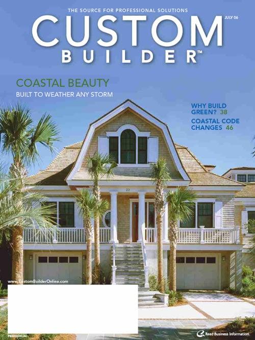 Free custom builder magazine the green head for Home builder magazine