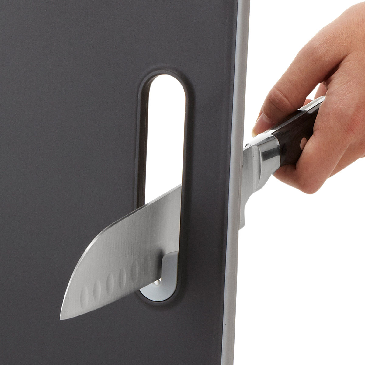 Cutting Board With Built In Knife Sharpener